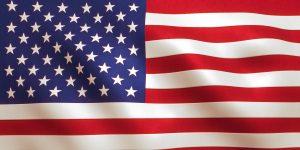American Flag 2 8in x 4in